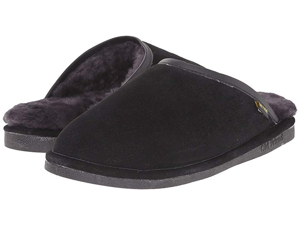 d3d9879f5c3 Old Friend Scuff (Black) Men s Slippers. Let your feet unwind in the comfort