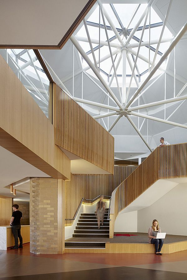 Ormond college academic centre mcglashan everist for Arquitectura moderna interiores