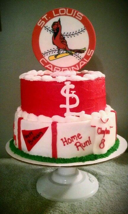 St Louis Cardinals Cake Ideas And Designs