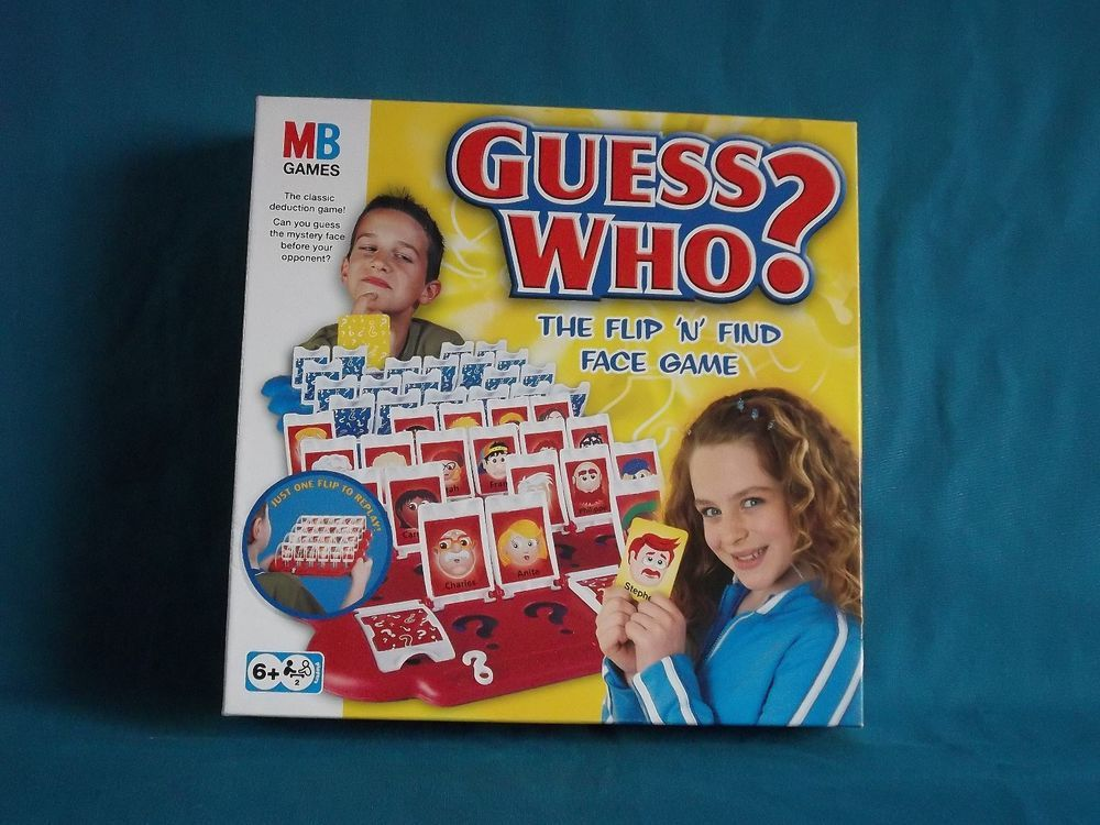 Guess Who MB Games 2004 Family Fun 100 Complete in VGC