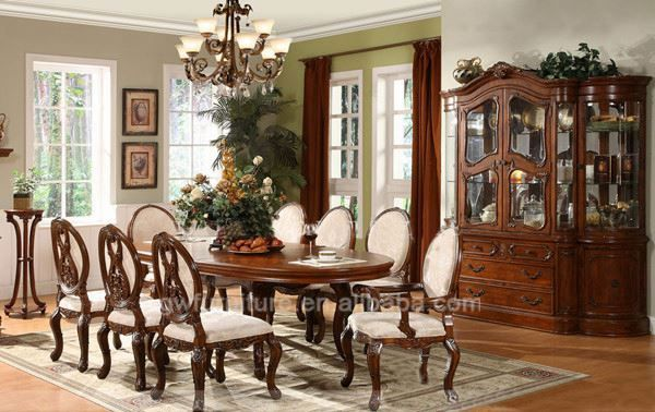 Dining Room Furniture Made Of Rattan Wicker