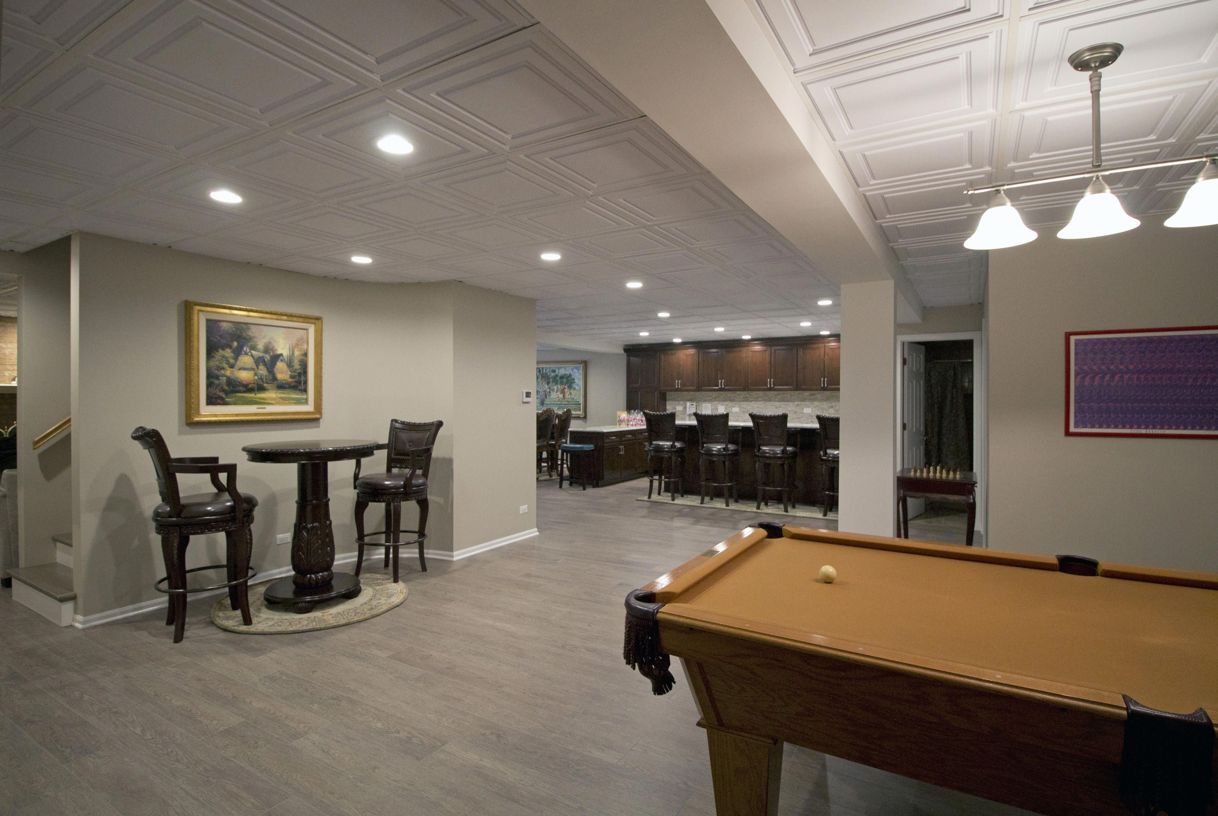 Give your basement walls a rustic look without breaking