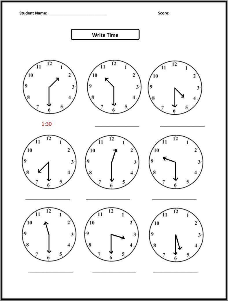 Free Third Grade Math Worksheets Elapsed Time Ibad Maths 2nd