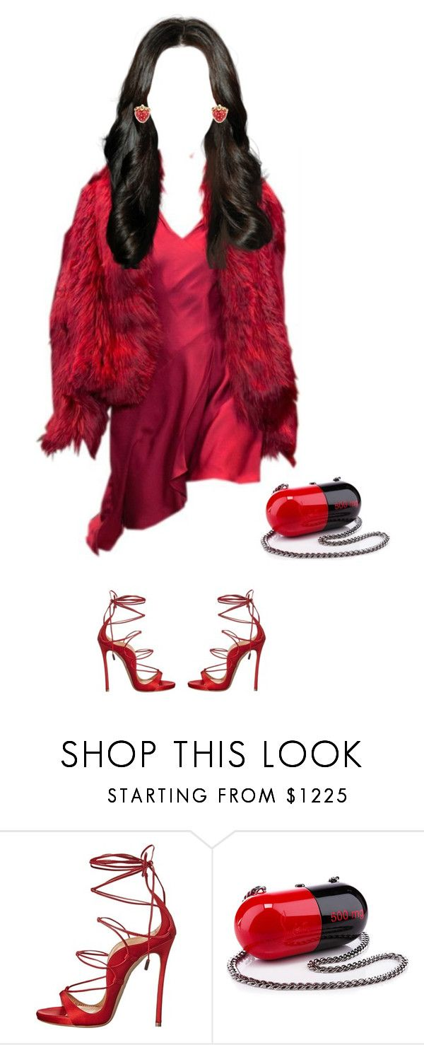 """""""Miami."""" by cmmpany ❤ liked on Polyvore featuring Versace, Dsquared2, Christian Louboutin and Marc Jacobs"""