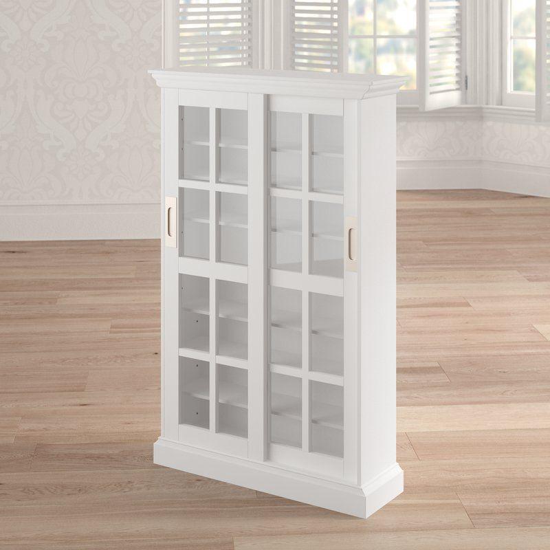 Sliding Door Multimedia in White Sliding doors
