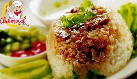 Resep Nasi Tim Ayam Resep Nasi Tim Sederhana Club Masak Food Easy Meals Indonesian Food