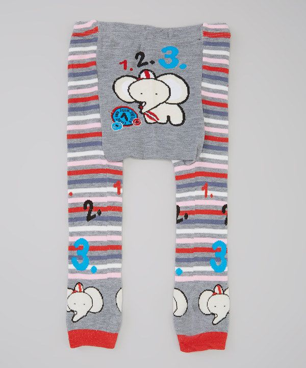Look at this Cream Elephant Pants - Infant on #zulily today!