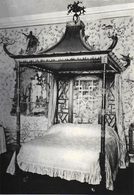 Oriental Four Poster Bed meubles qui étonnent Pinterest Design