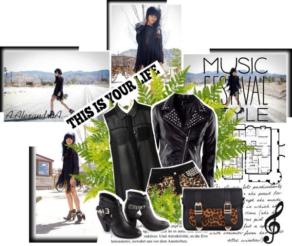 """""""♫ Music Festival Style ♫"""" by szansza ❤ liked on Polyvore"""