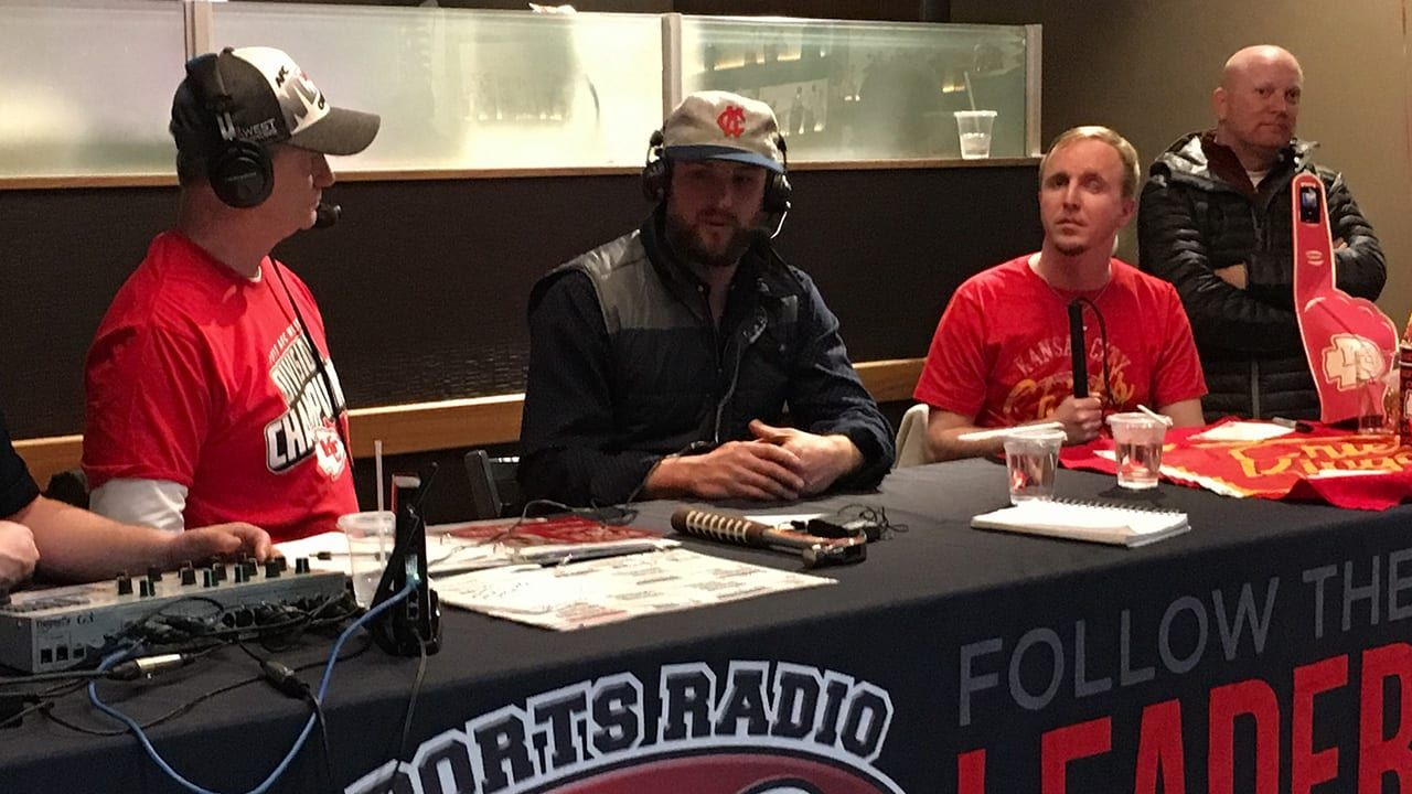 A Blind Man Can See Every Sunday Through the Chiefs Radio