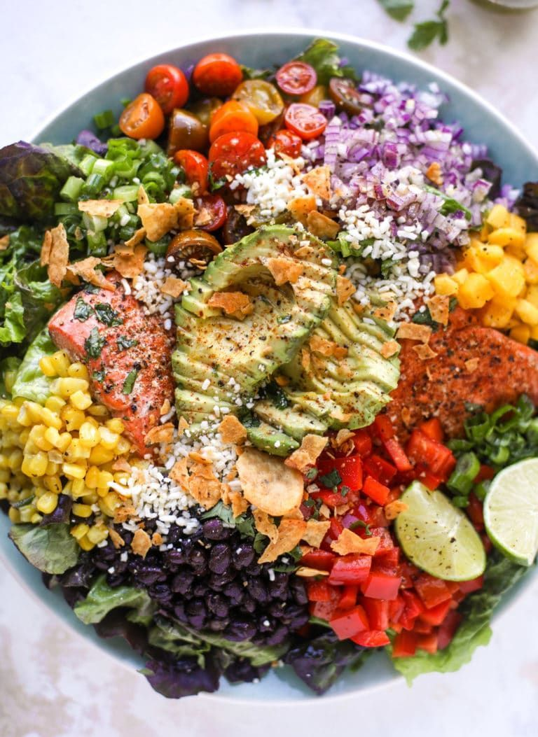 Photo of Southwest Salmon Salad – How to Make a Southwest Salmon Salad