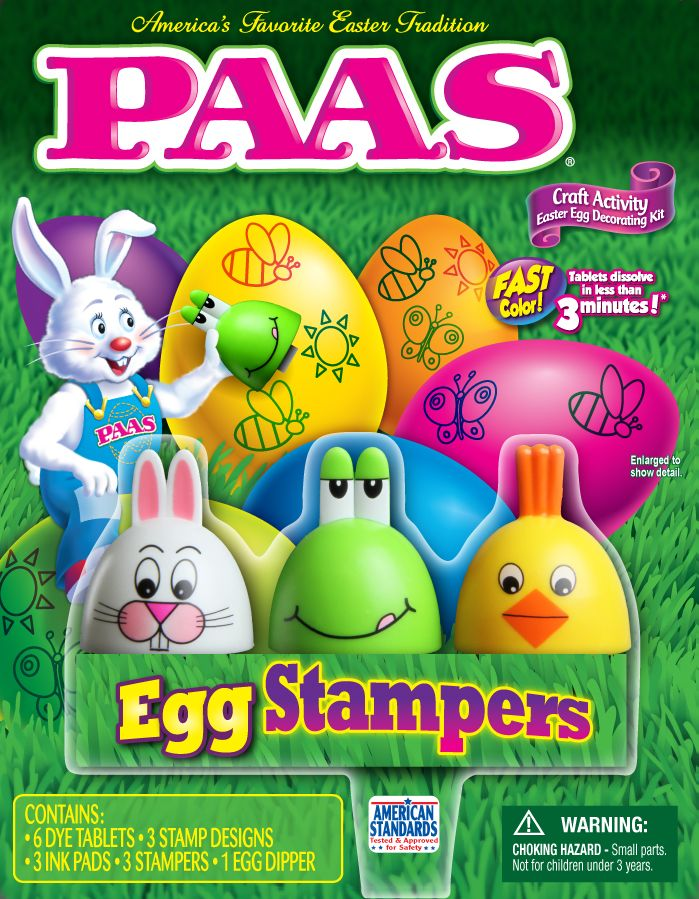 PAAS Egg Stampers egg decorating kit easter Egg