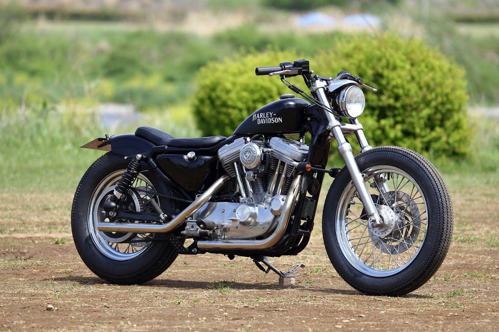 2001 Sportster By Hide Motor Co Sportster Bobber Harley Bikes Sportster Cafe Racer