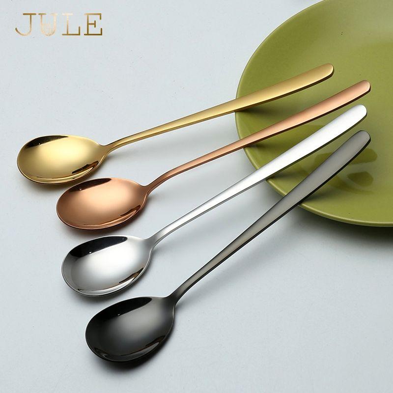 Oksale 1 Pair Stainless Steel Tableware Colorful Length 23cm Chopsticks Black