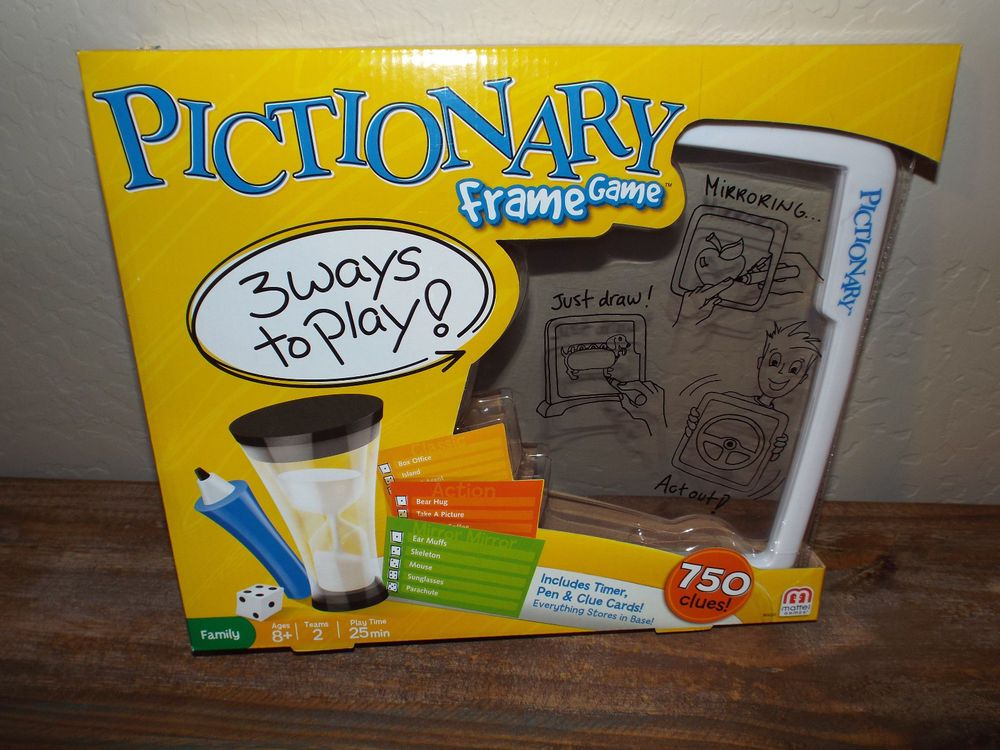 Pictionary Frame Game | Gaming