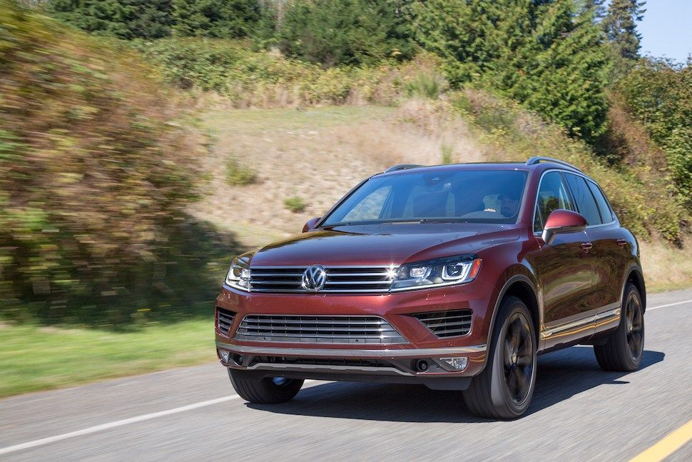 2017 Volkswagen Touareg Review Understated Competence