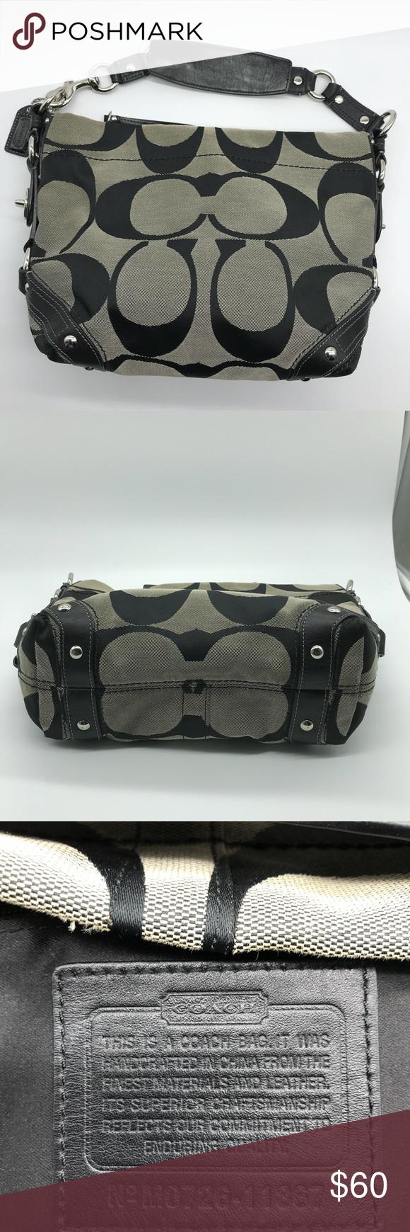 Coach Carly Signature Jacquard Handbag   Smoke free, Coach bags and ... cff838b873