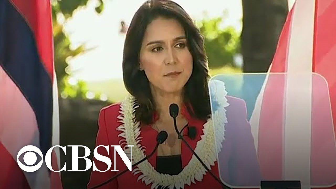 Tulsi Gabbard kicks off presidential campaign at Honolulu