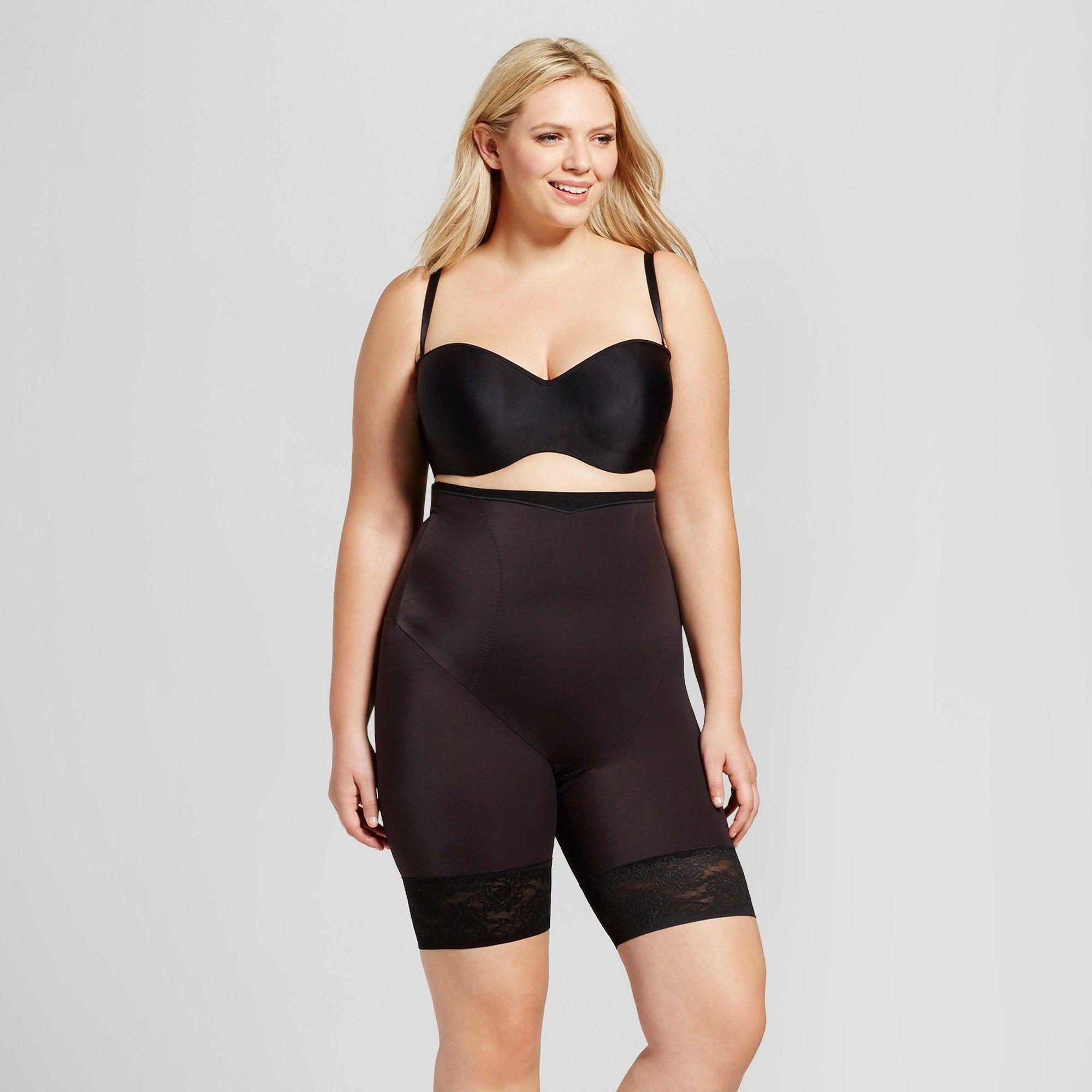 83630ff7e4 Plus Size Maidenform Self Expressions Women s Plus High Waist Thigh Slimmer  - SE1024