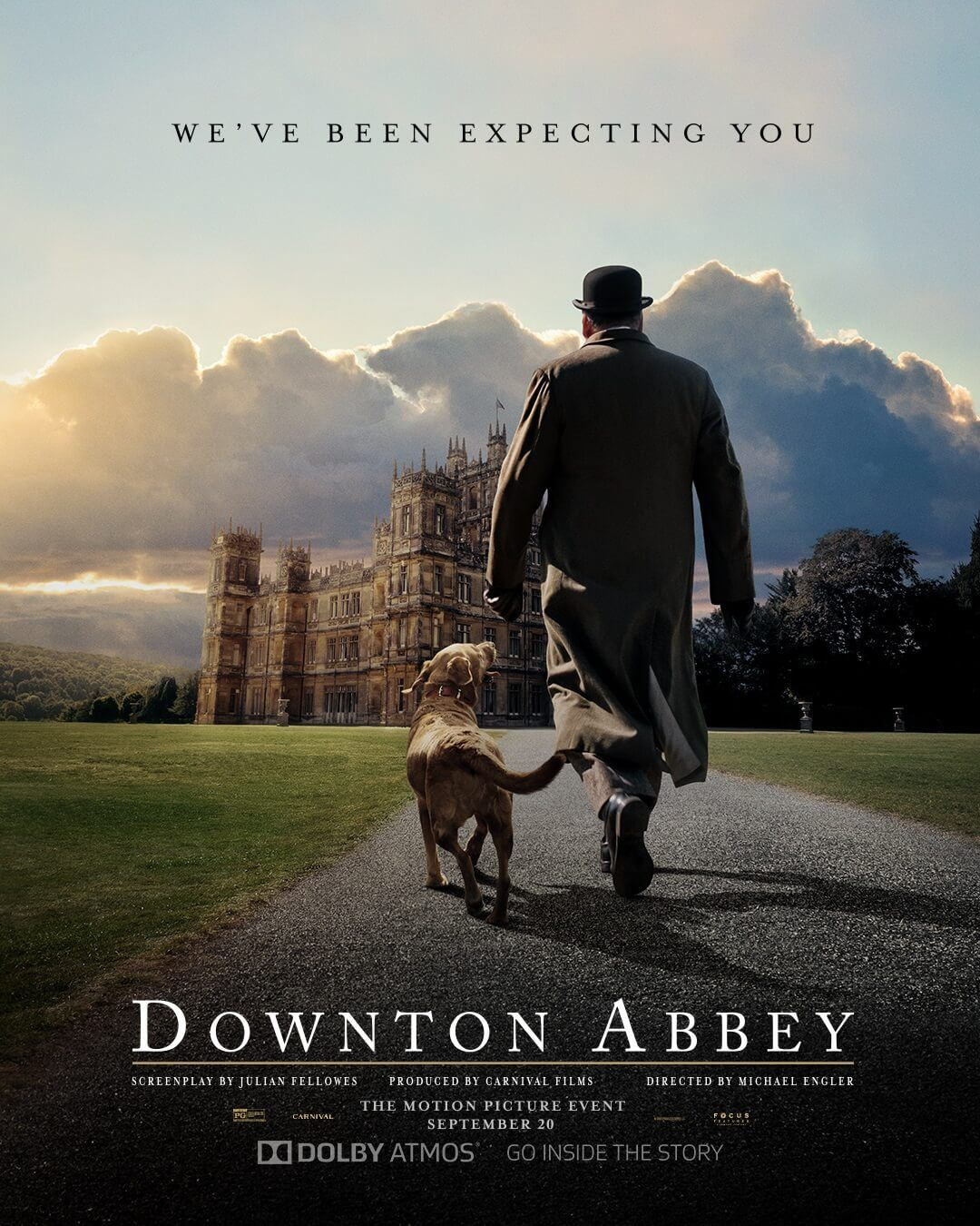 downton abbey movie 2 release date