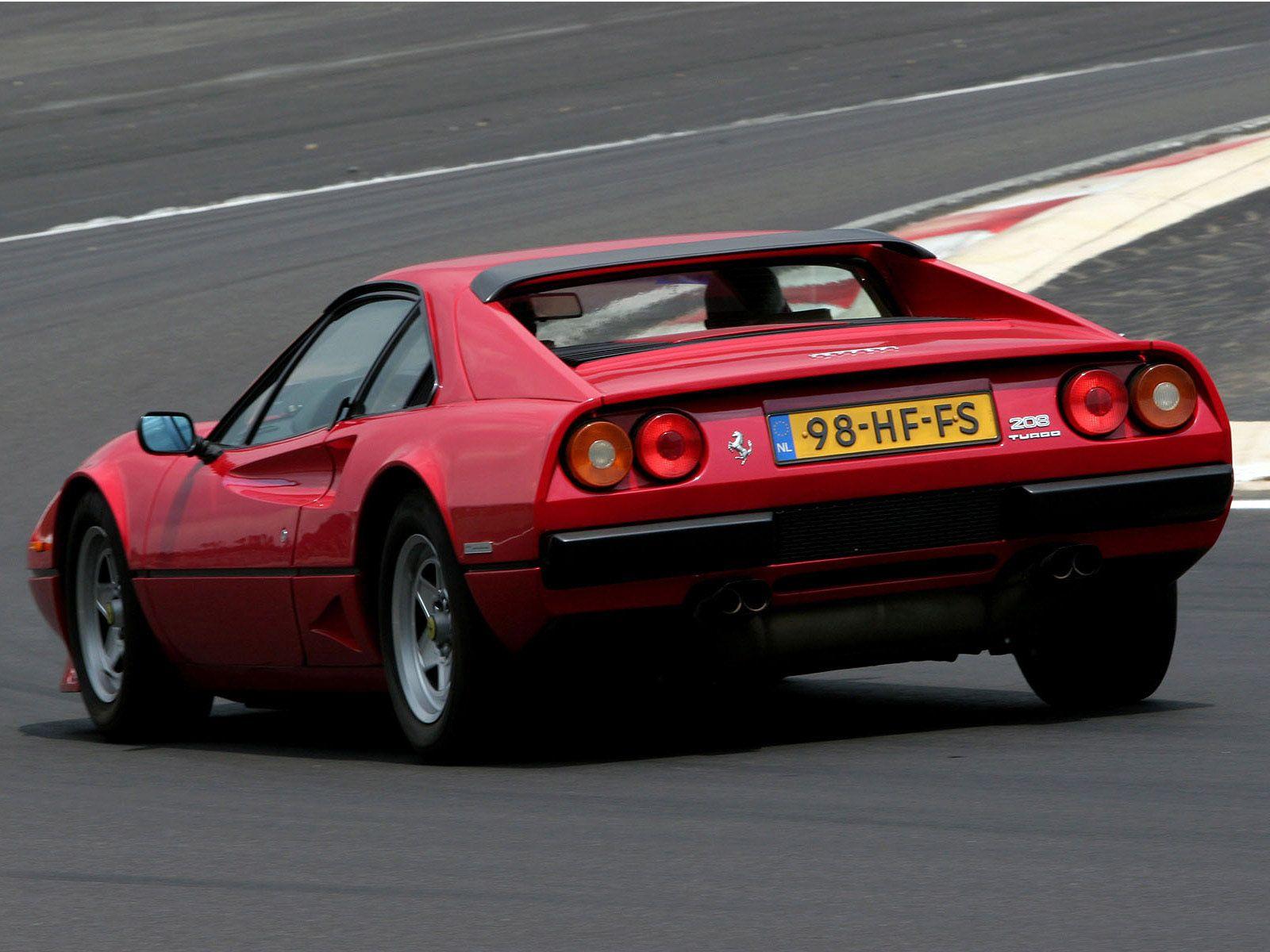 Ferrari 208 Gtb Turbo 1982 Ferrari Turbo Turbo S