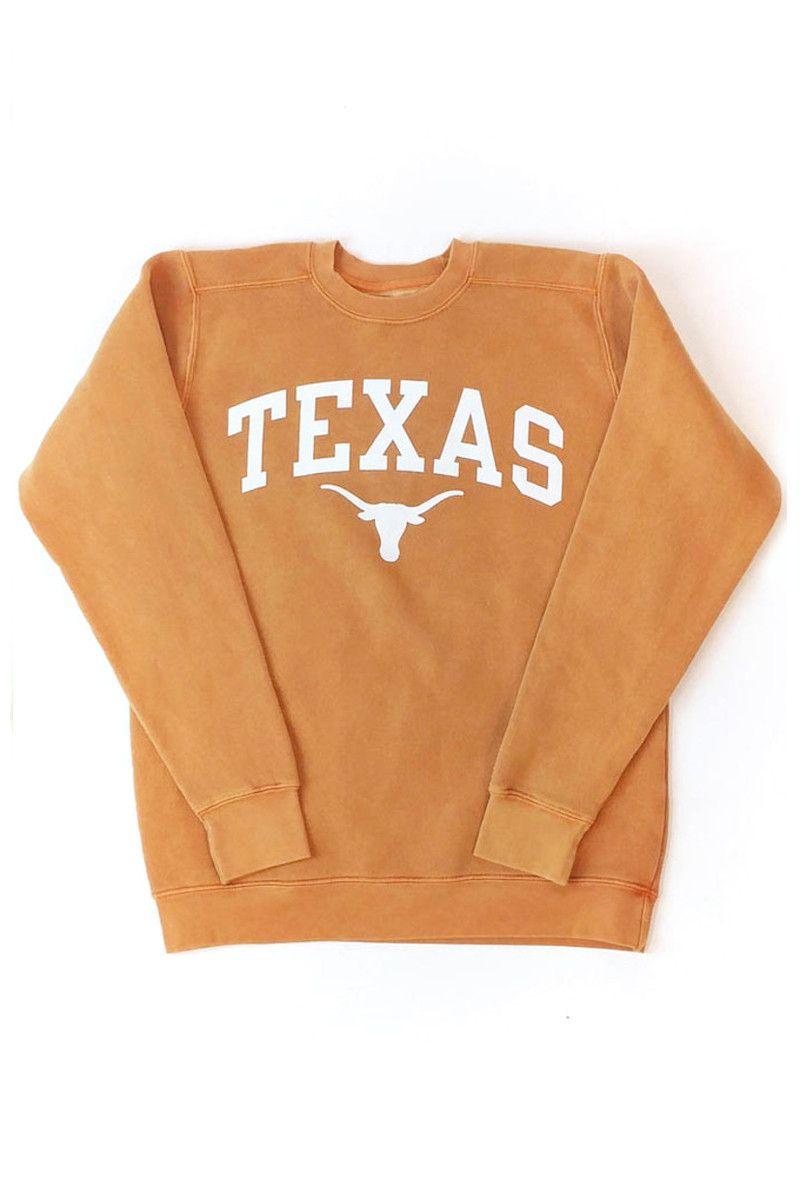 Arched Texas Over Bevo Fleece Sweatshirt University Co Op Sweatshirts Texas Clothing Casual School Outfits [ 1200 x 800 Pixel ]