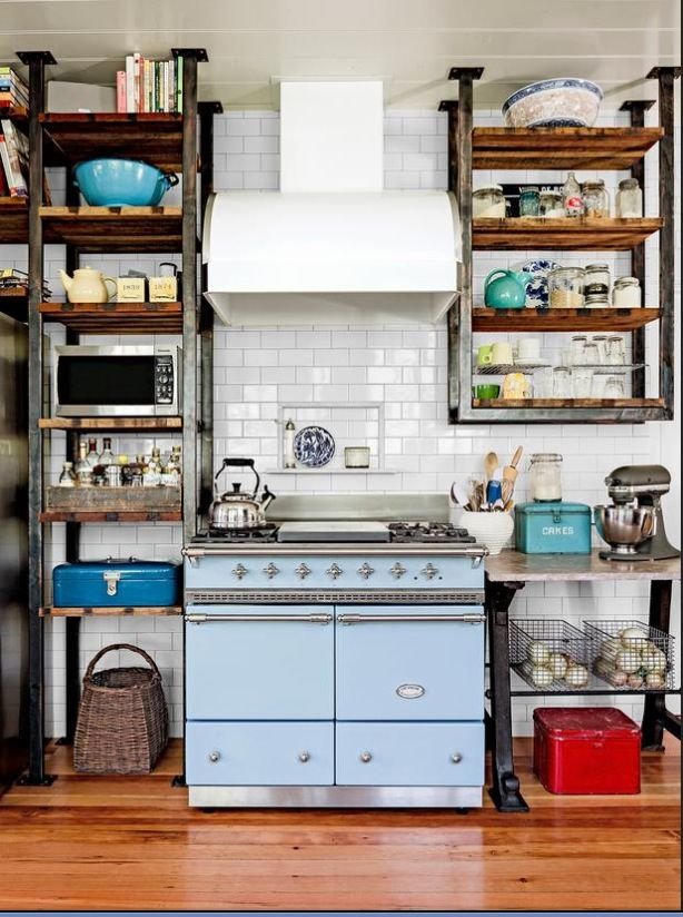 apartment kitchen- hopefully not so cluttered though Apartment - como disear una cocina