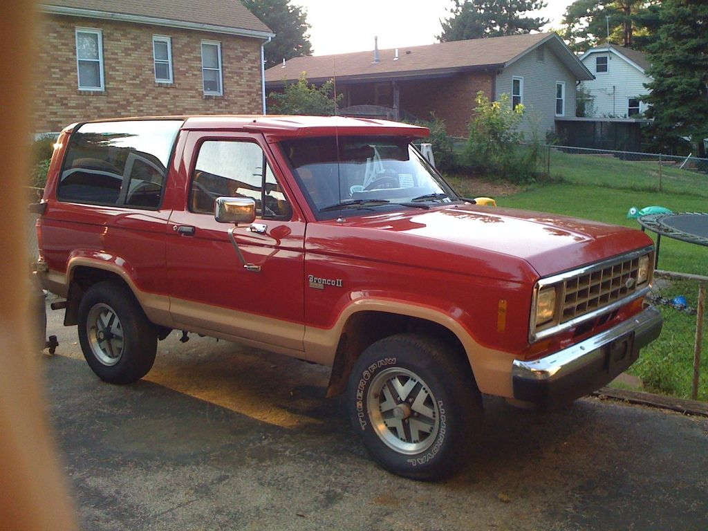 I 5 bronco 2 ford bronco ii eddie bauer edition replaced 1989