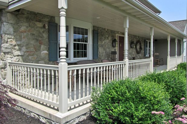 fairway vinyl recessed railing panel post product newel architectural porch products solutions posts turned
