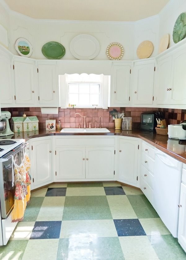 Eclectic House Tour The Decorologist Kitchen Tiles Design