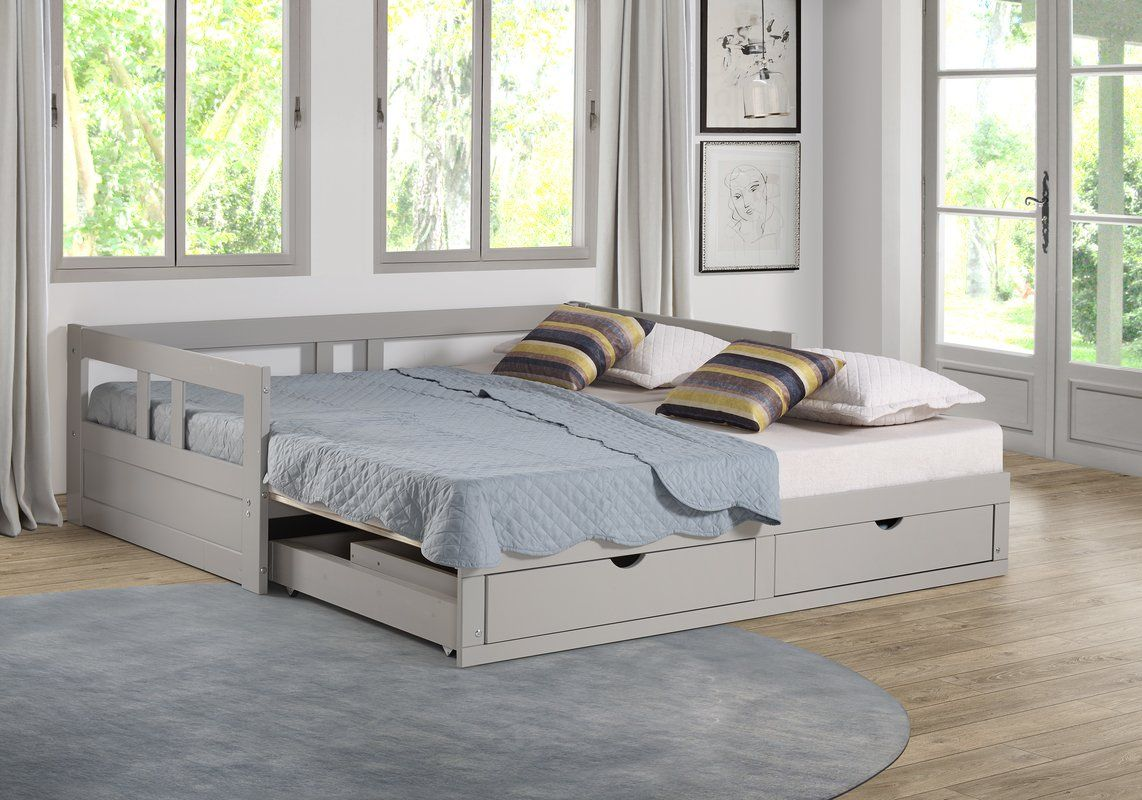 Bechtold Daybed With Trundle Daybed With Storage Daybed With Trundle Trundle Bed With Storage