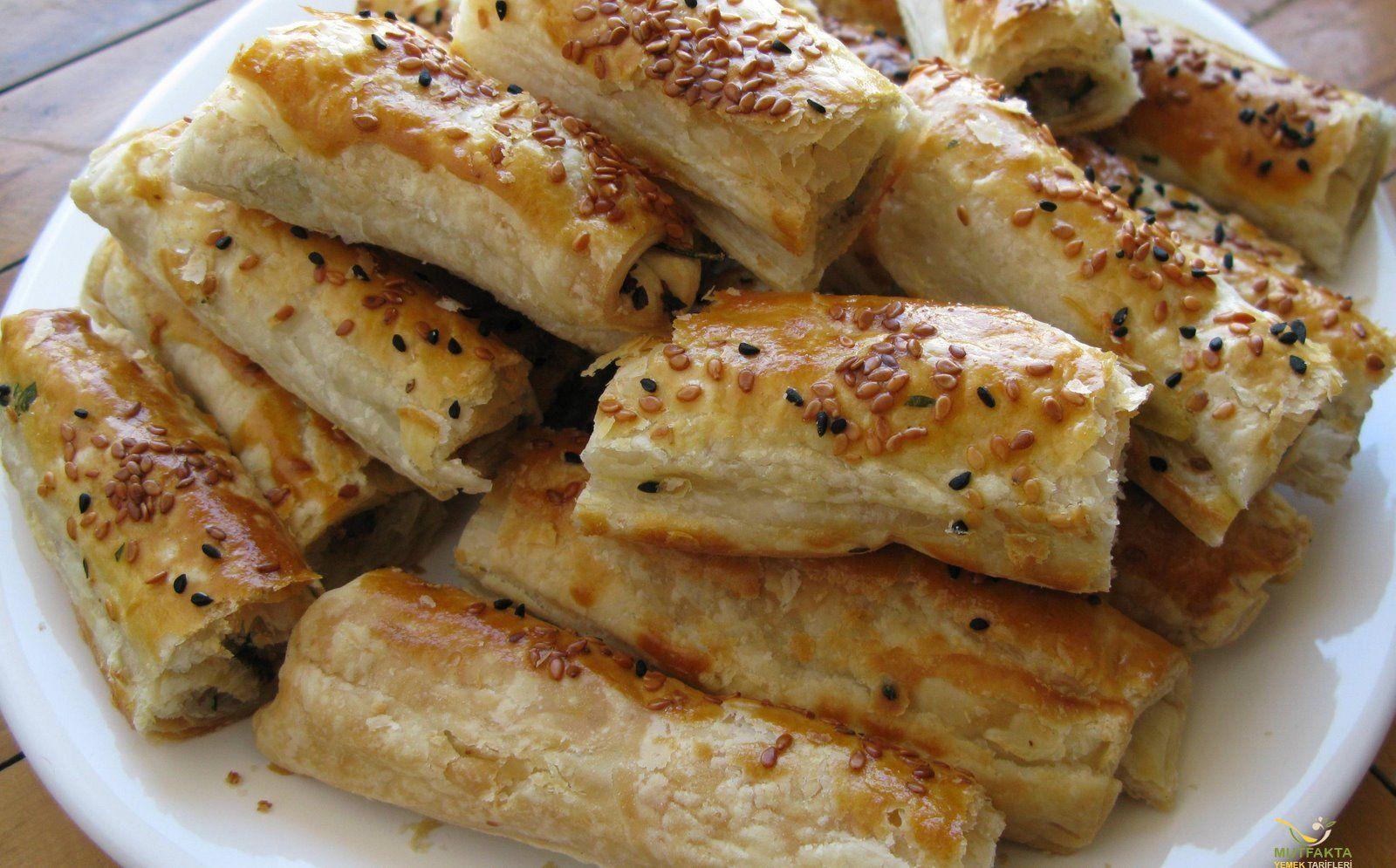 Knusprige Börek mit Kartoffel