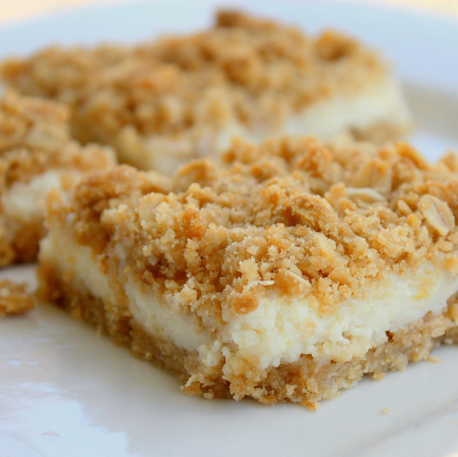 Creamy Lemon Crumb Squares