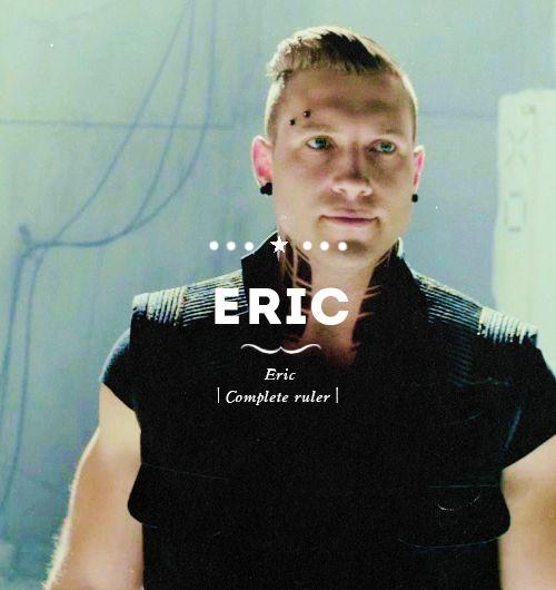 Eric + Divergent character cards | Divergent | Pinterest ...