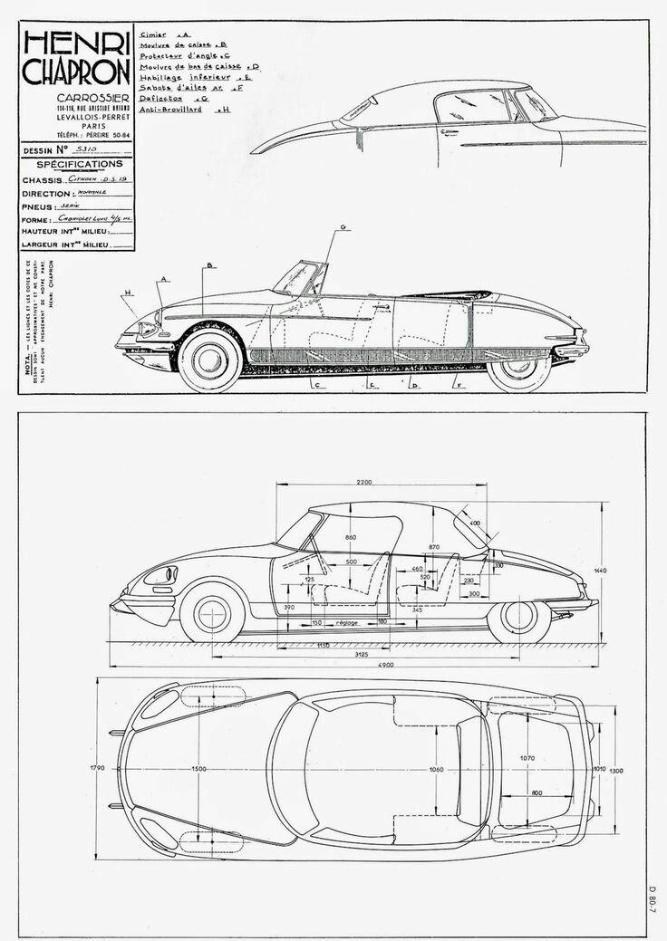southsiders DS Citroen Digital Geometry Pinterest Ds and Cars - new blueprint coffee watson