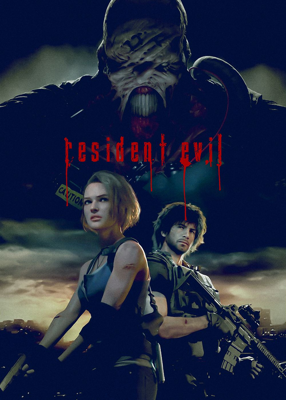 Gaming Resident Evil Vintage Posters Poster Print Metal Posters