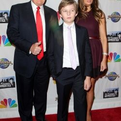 President-Elect Donald & Melania Trump Put Son Barron First!