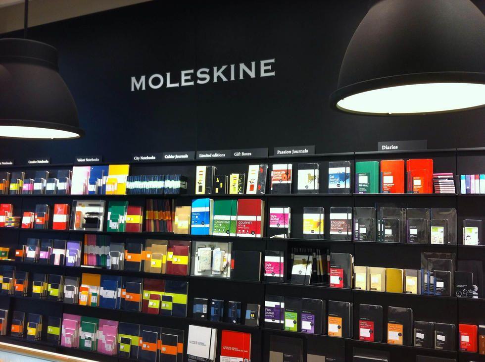 Cultivo en Tienda Moleskine