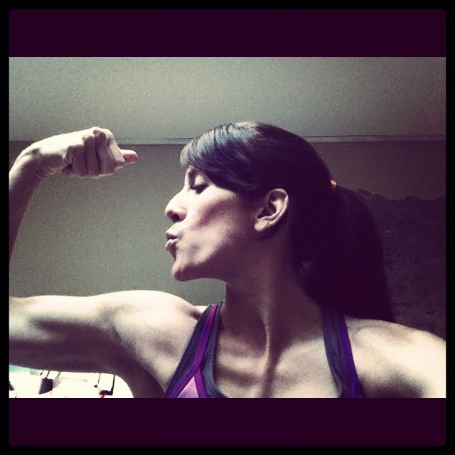 Eat clean and weight train and you can love your muscles too :)I know this lady she's a super famous trainer!!