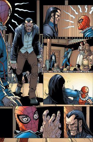 Morlun Spiderverse Universo Spiderman