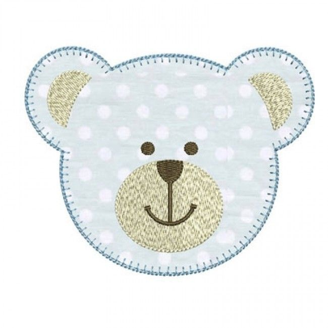 Bear Apply Applique Machine Applique Designs Applique Patterns