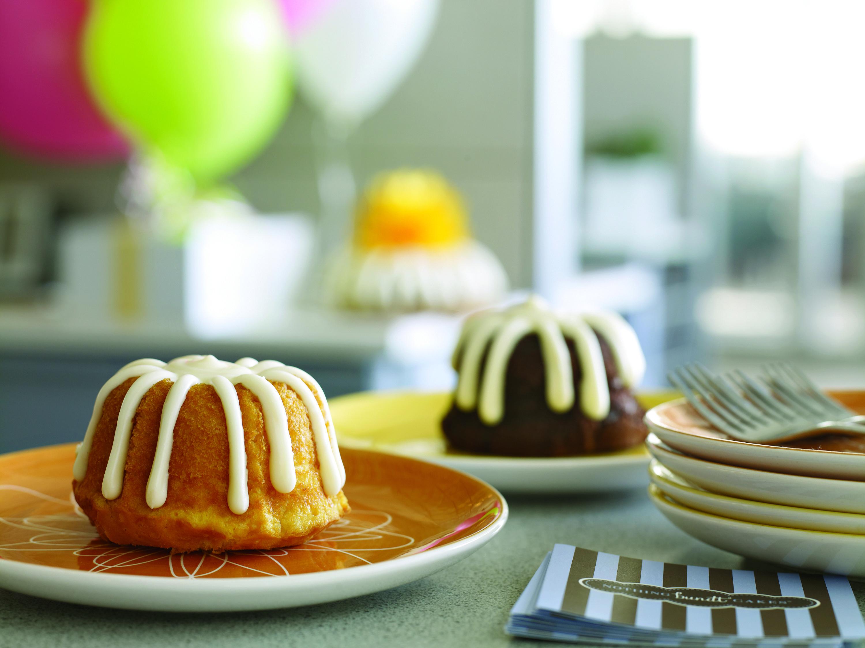 Bundt cakes balloons happy birthday visit nothing
