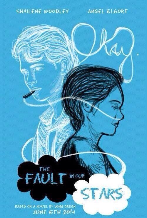 The Fault In Our Stars Bajo La Misma Estrella Dibujos Posteres Retro