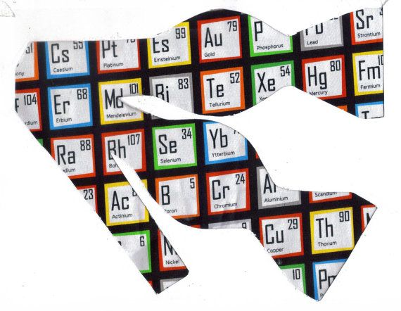 Periodic table of elements self tie bow tie science bow tie periodic table of elements self tie bow tie science bow tie periodic table tie geek bow tie bow ties for men ties for teachers urtaz Gallery