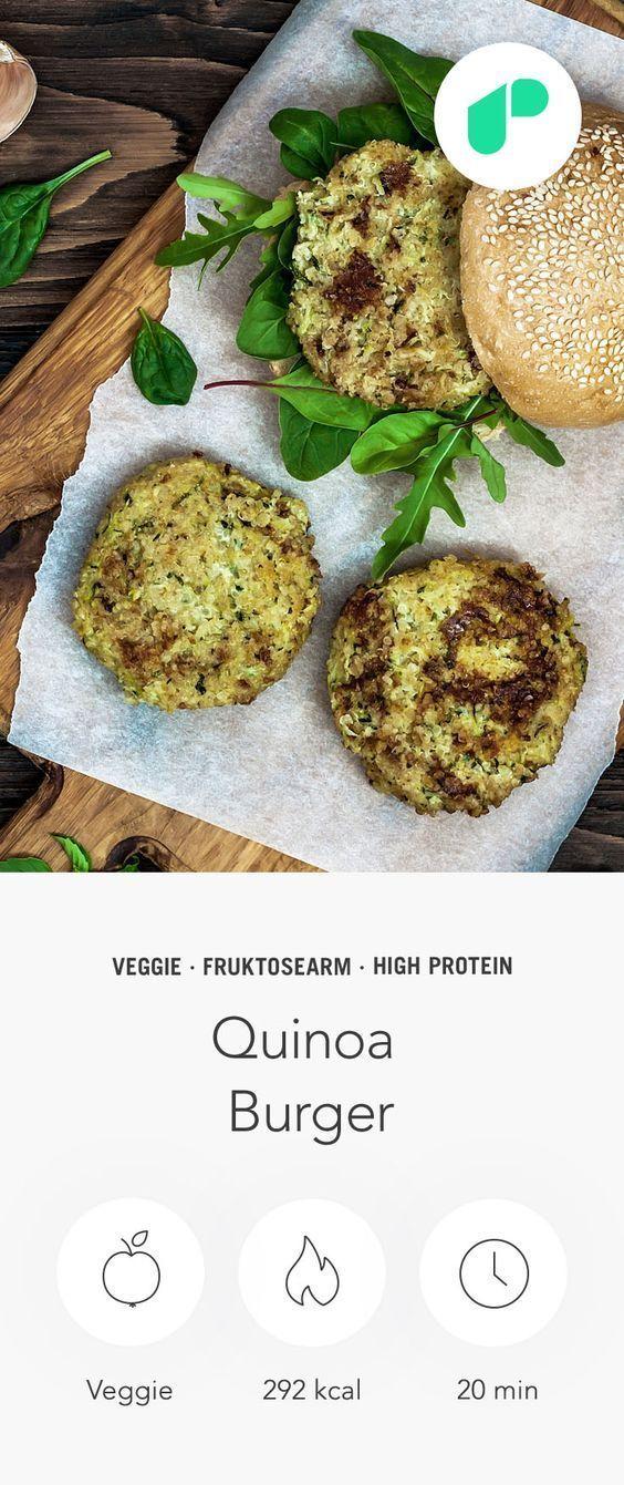 Quinoa Burger Rezept – Upfit