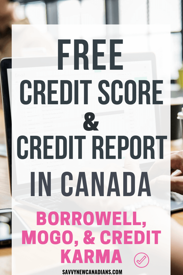 How to get credit report canada online