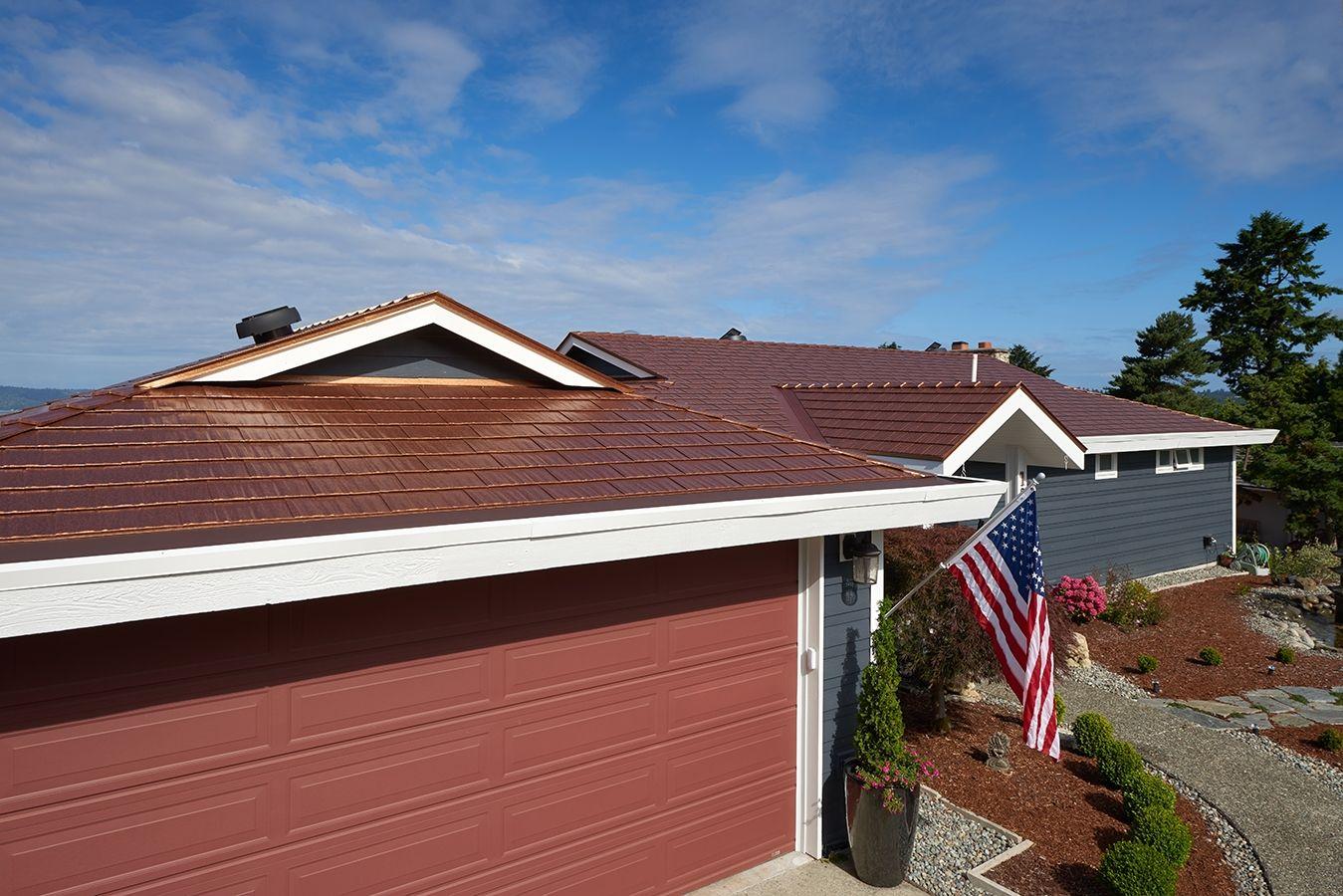 Best Aged Copper Interlock® Cedar Shingle Metal Roofing System 640 x 480