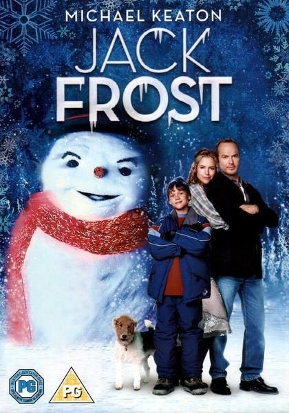 Jack Frost Dvd Michael Keaton Troy Miller 1998 Jack Frost Movie Jack Frost Hallmark Christmas Movies