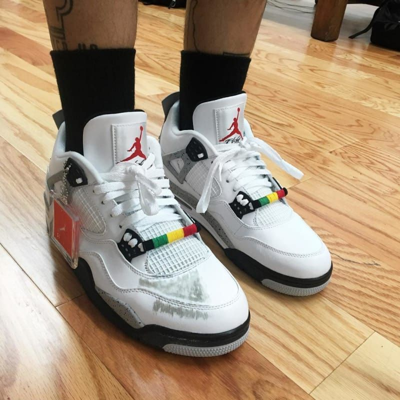 Hot Online Nike Air Jordan 5 Retro Silver Green Bean Flint Grey
