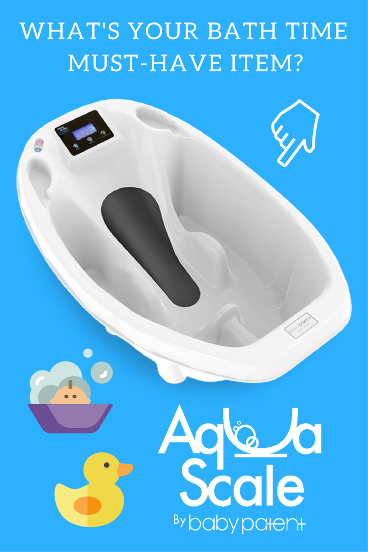 AquaScale 3-in-1 Digital Scale, Water Thermometer and Infant Tub ...